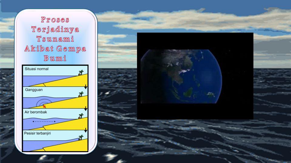 Proses Terjadinya Tsunami Akibat Gempa Bumi