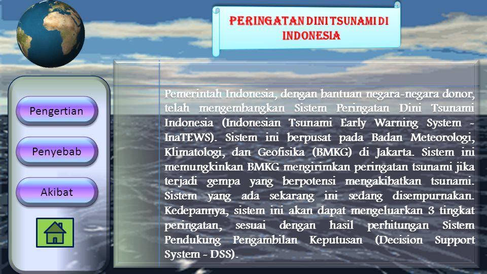 Peringatan Dini Tsunami di indonesia