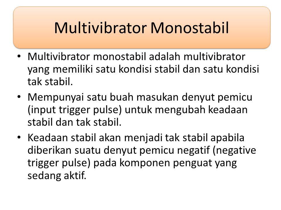 Multivibrator Monostabil