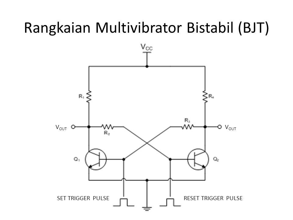 Rangkaian Multivibrator Bistabil (BJT)