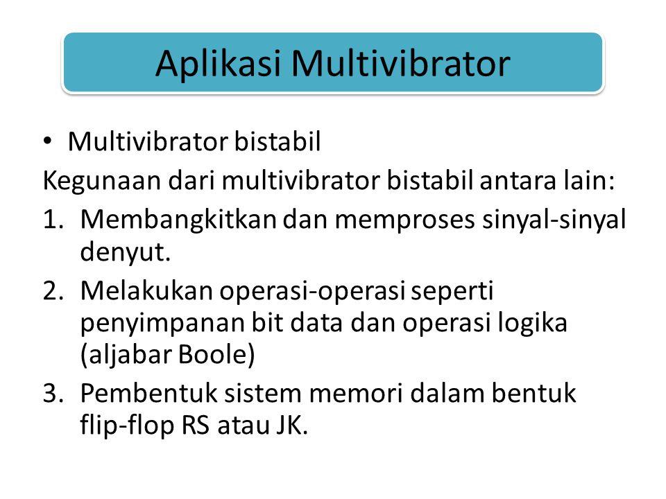 Aplikasi Multivibrator