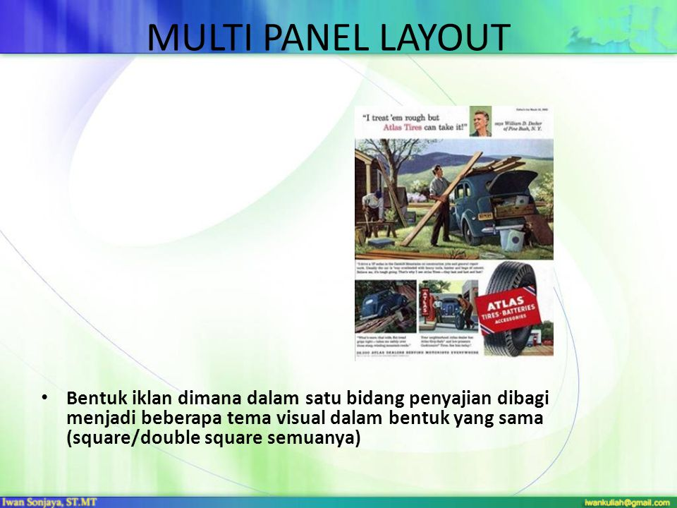 MULTI PANEL LAYOUT
