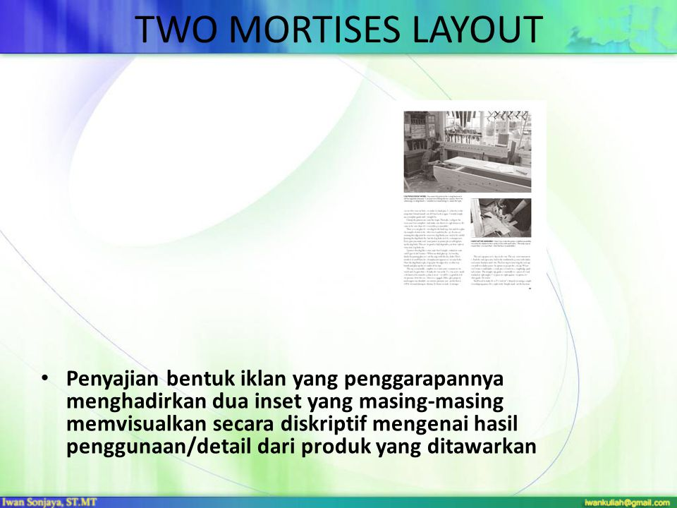 TWO MORTISES LAYOUT