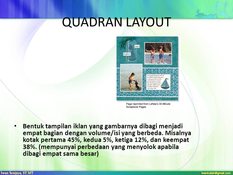 QUADRAN LAYOUT
