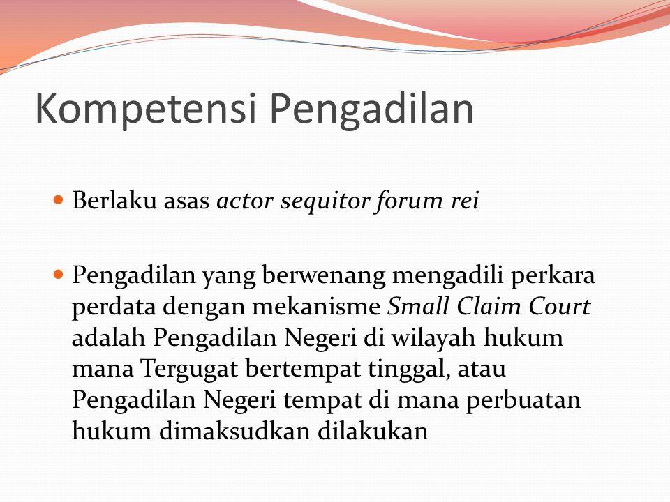 Kompetensi Pengadilan