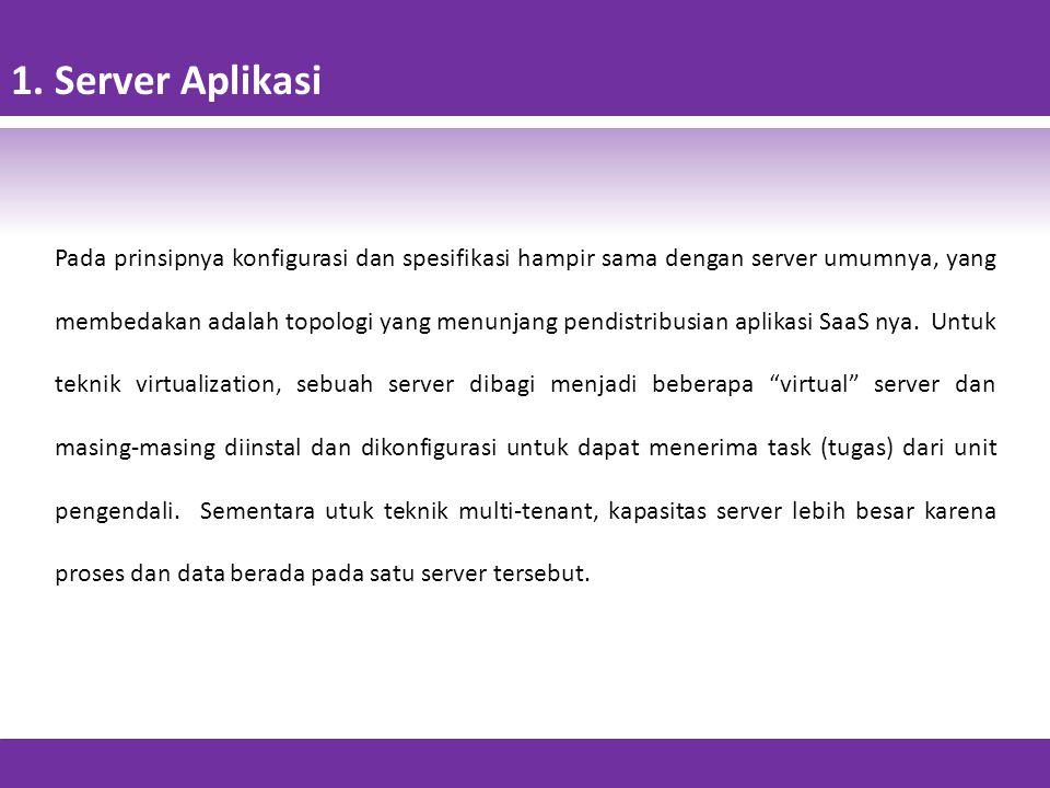 1. Server Aplikasi