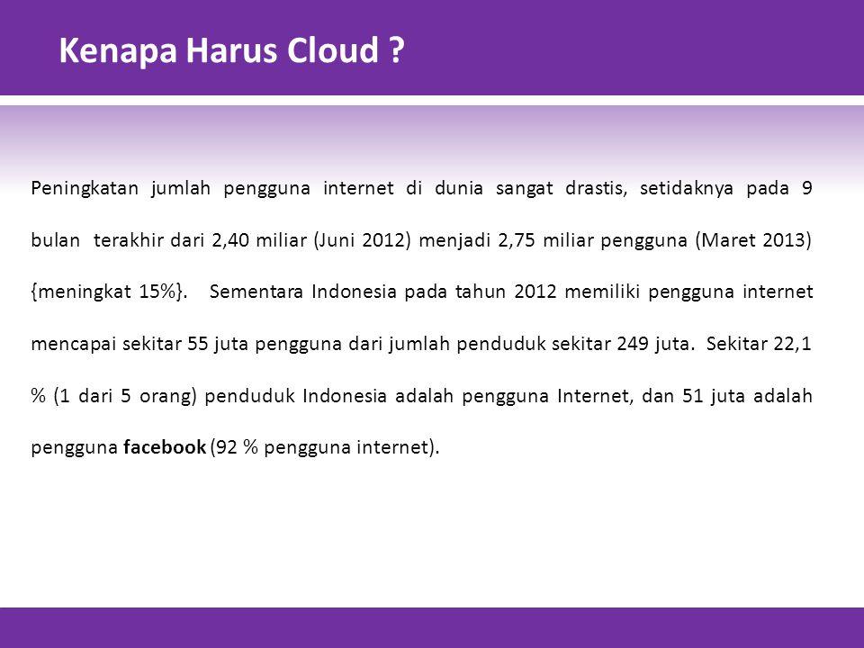 Kenapa Harus Cloud