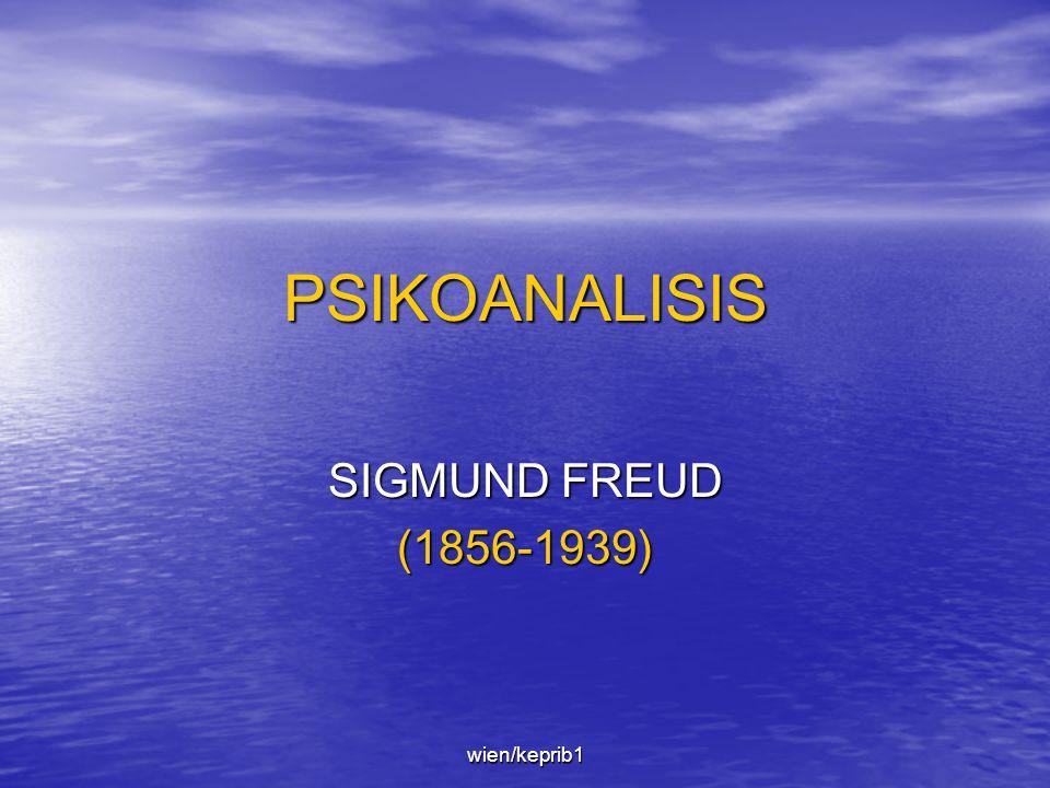 PSIKOANALISIS SIGMUND FREUD (1856-1939) wien/keprib1