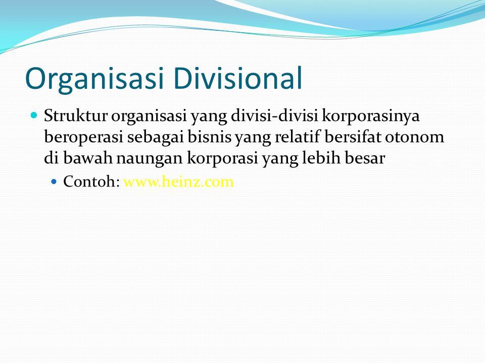 Organisasi Divisional