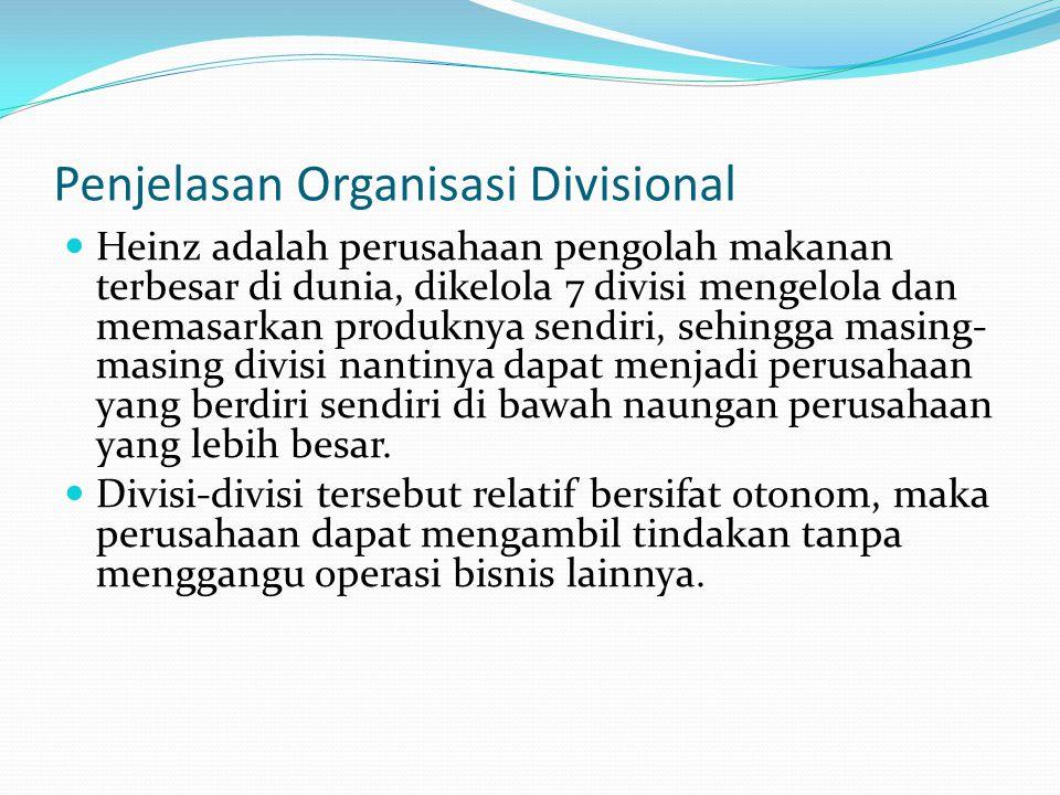 Penjelasan Organisasi Divisional