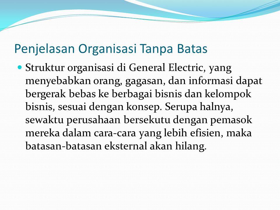 Penjelasan Organisasi Tanpa Batas