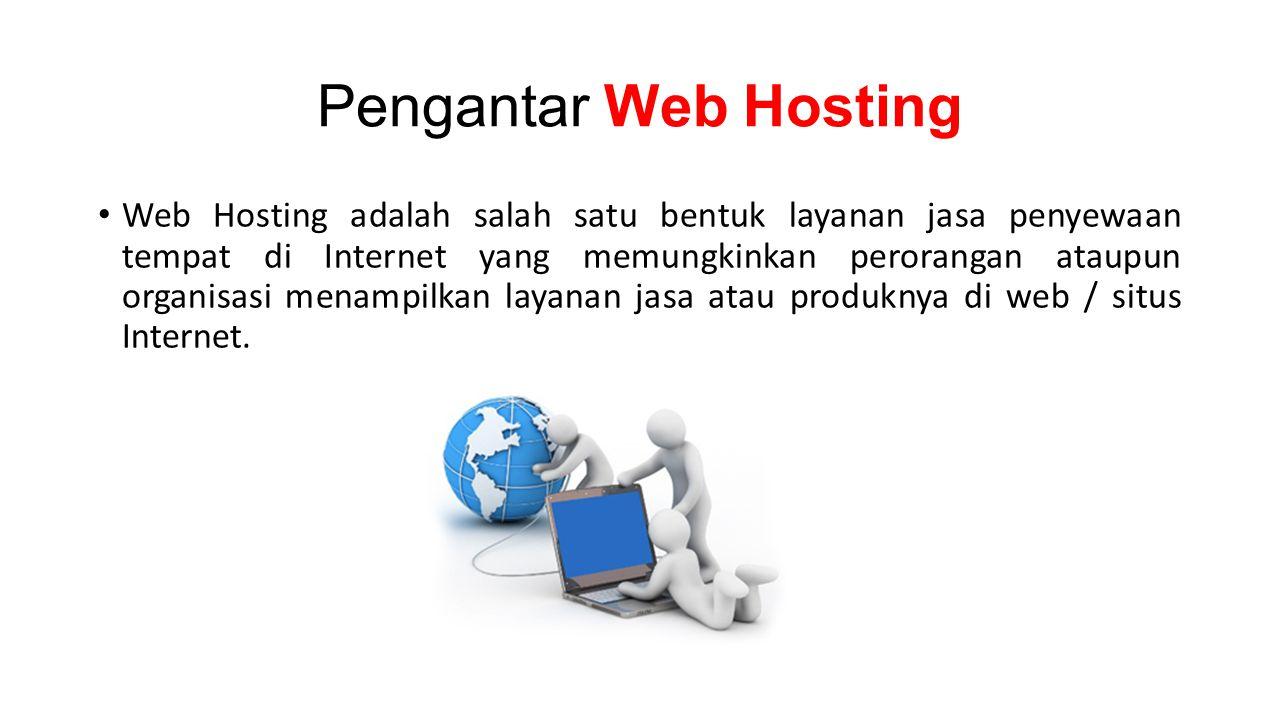 Pengantar Web Hosting