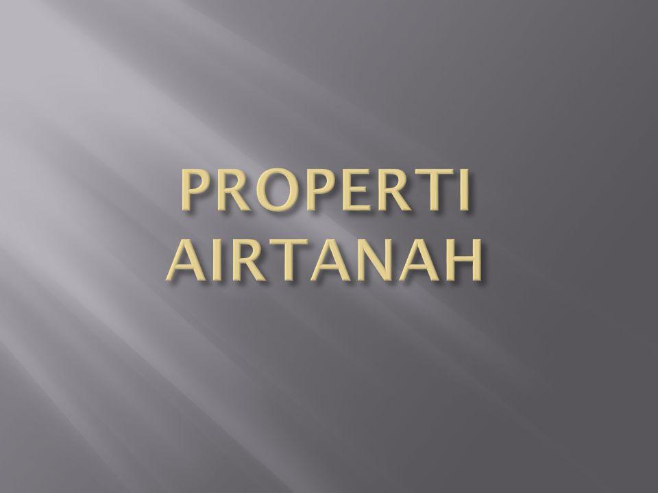 PROPERTI AIRTANAH