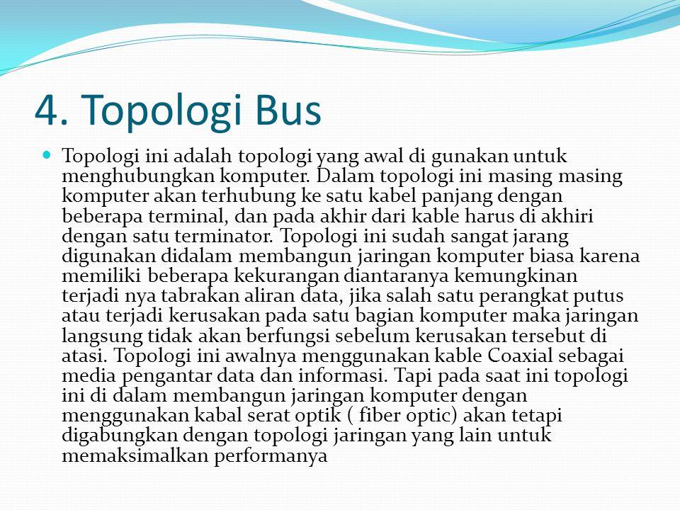 4. Topologi Bus