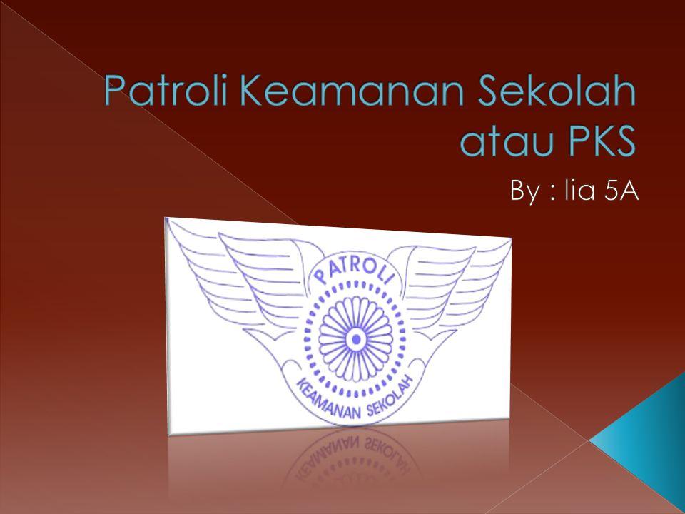 Patroli Keamanan Sekolah atau PKS