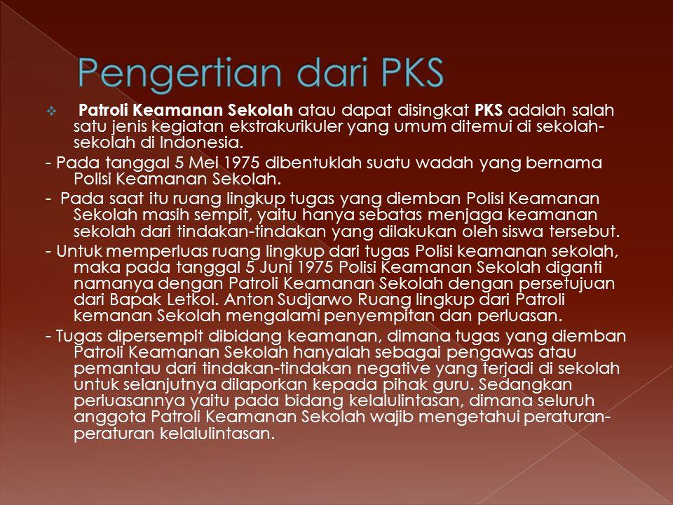 Pengertian dari PKS