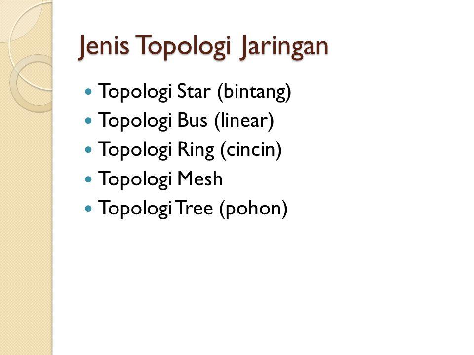 Jenis Topologi Jaringan