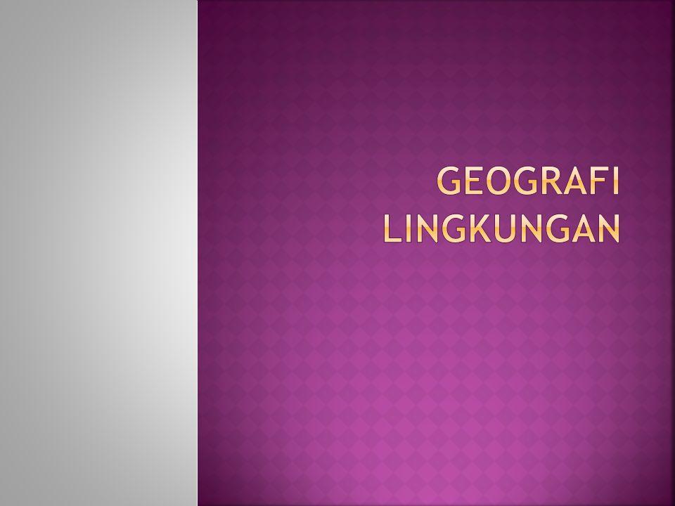 Geografi Lingkungan