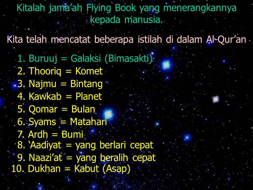 Kitalah jama'ah Flying Book yang menerangkannya kepada manusia.