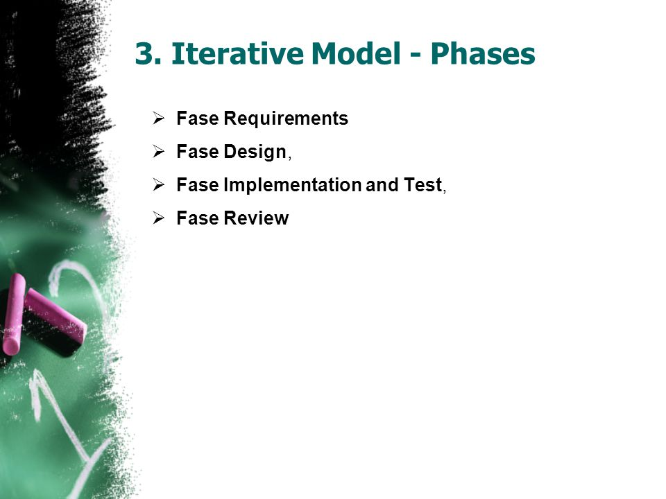 3. Iterative Model - Phases