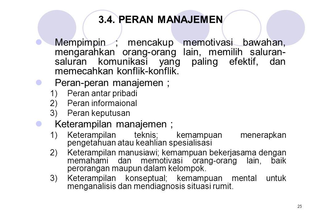 3.4. PERAN MANAJEMEN