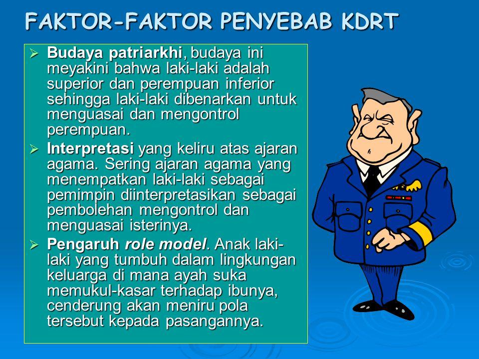 FAKTOR-FAKTOR PENYEBAB KDRT