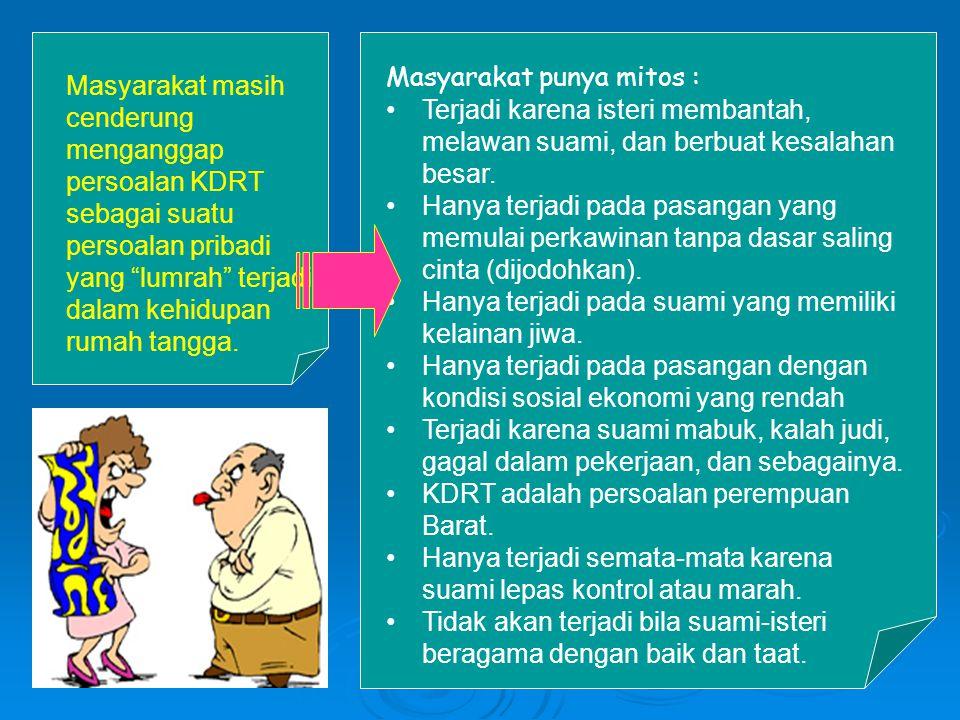 Masyarakat punya mitos :
