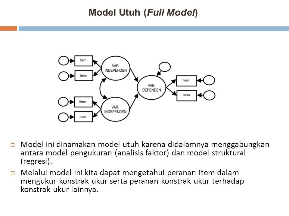 Model Utuh (Full Model)