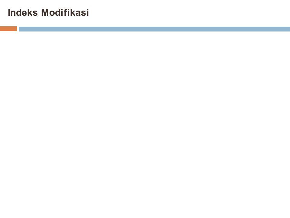 Indeks Modifikasi