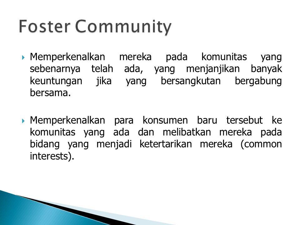 Foster Community