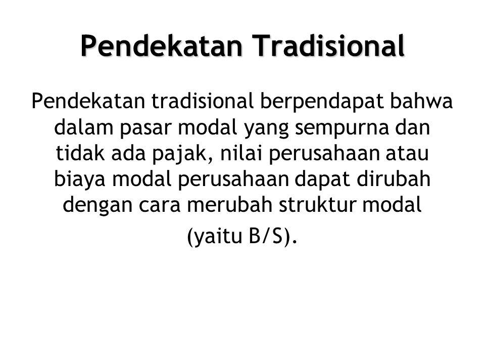 Pendekatan Tradisional