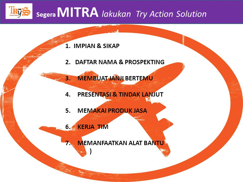 Segera MITRA lakukan Try Action Solution
