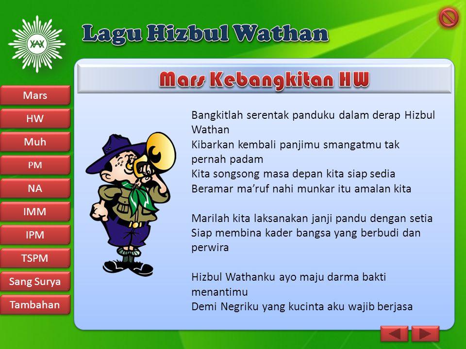Lagu Hizbul Wathan Mars Kebangkitan HW