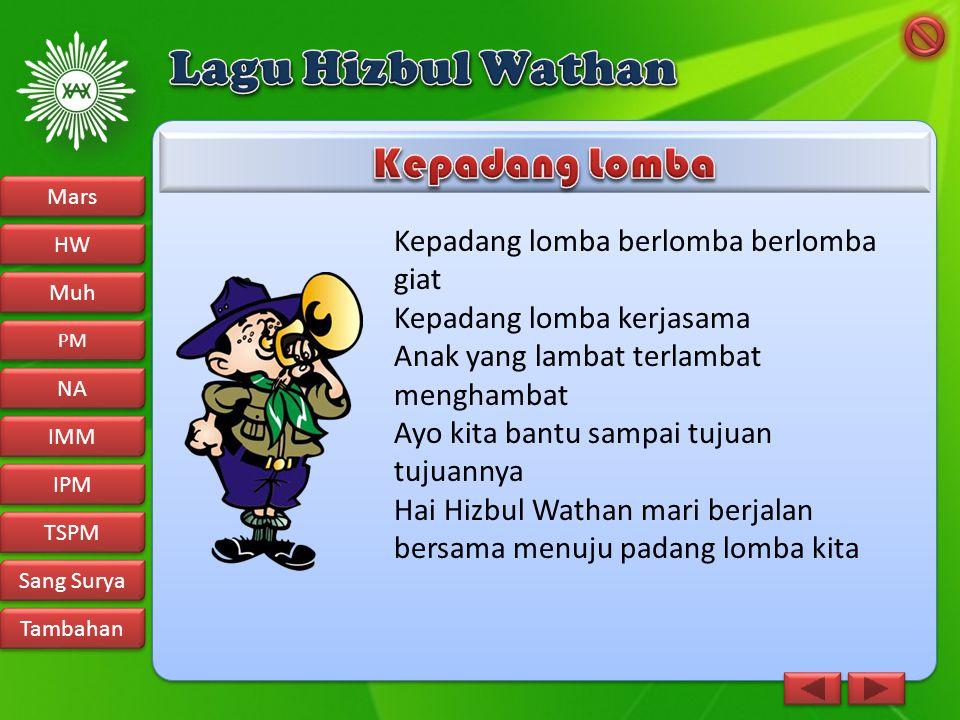 Lagu Hizbul Wathan Kepadang Lomba