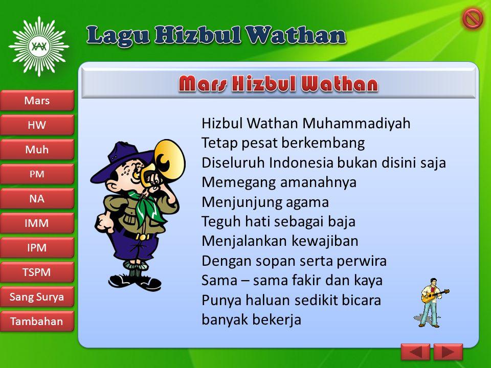 Lagu Hizbul Wathan Mars Hizbul Wathan Hizbul Wathan Muhammadiyah