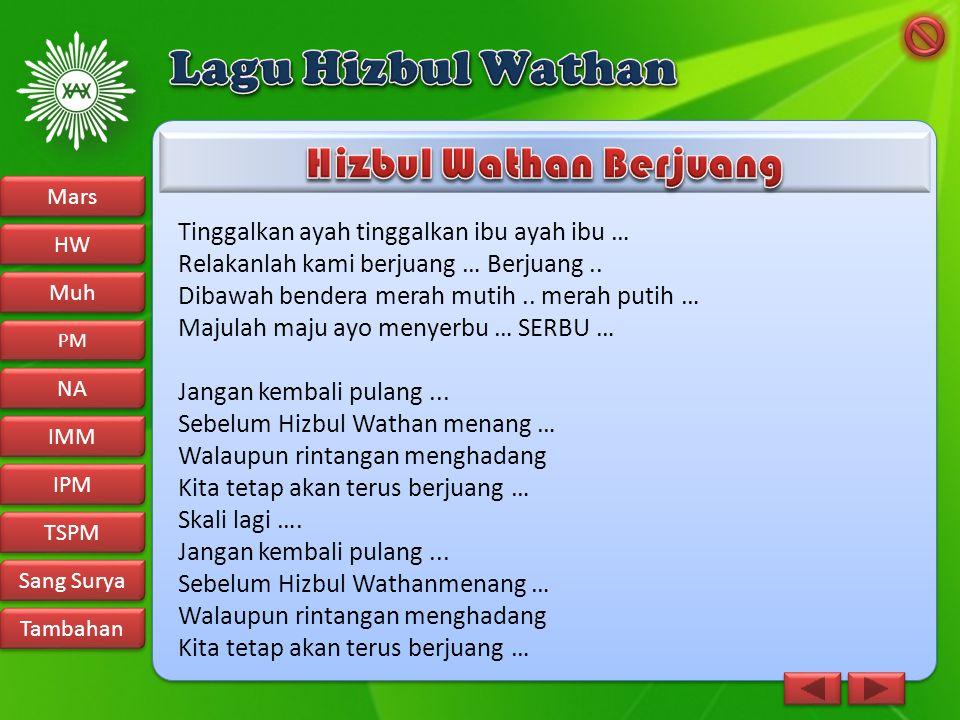 Hizbul Wathan Berjuang