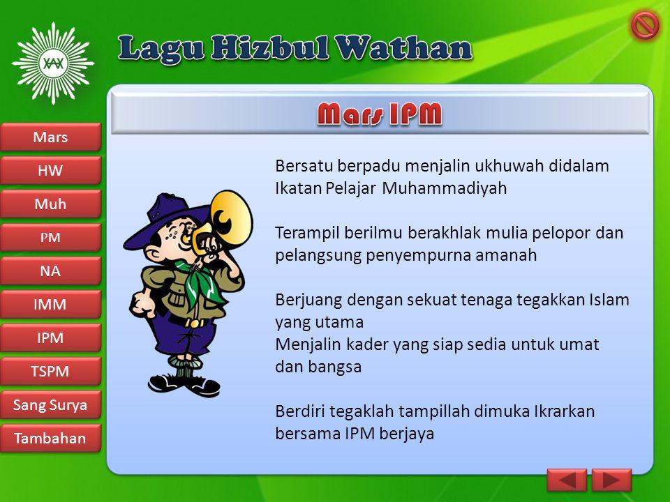 Lagu Hizbul Wathan Mars IPM