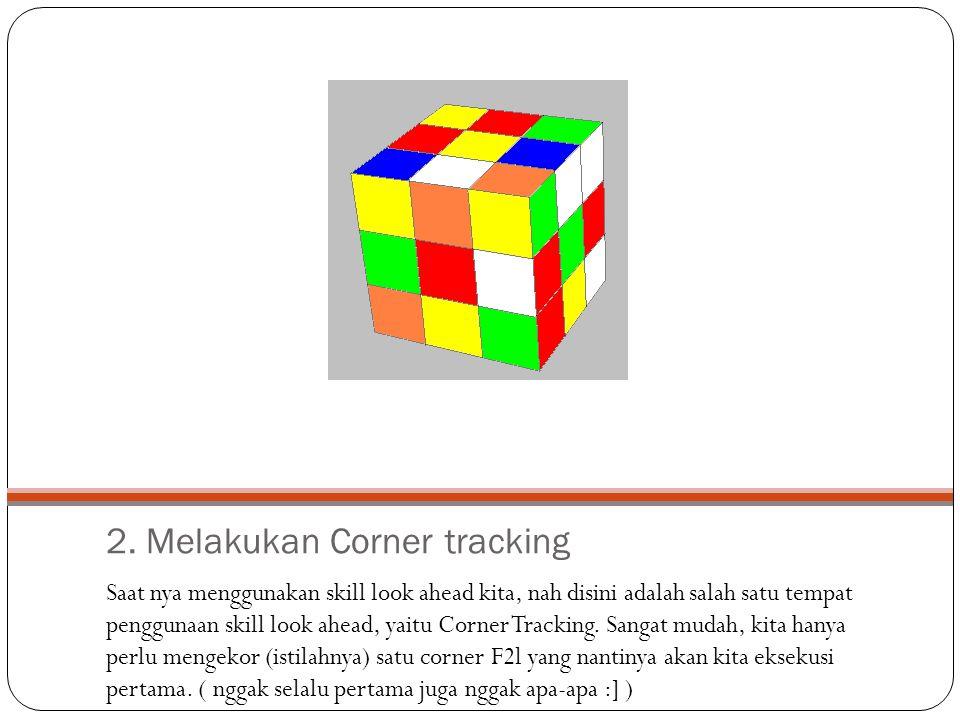 2. Melakukan Corner tracking