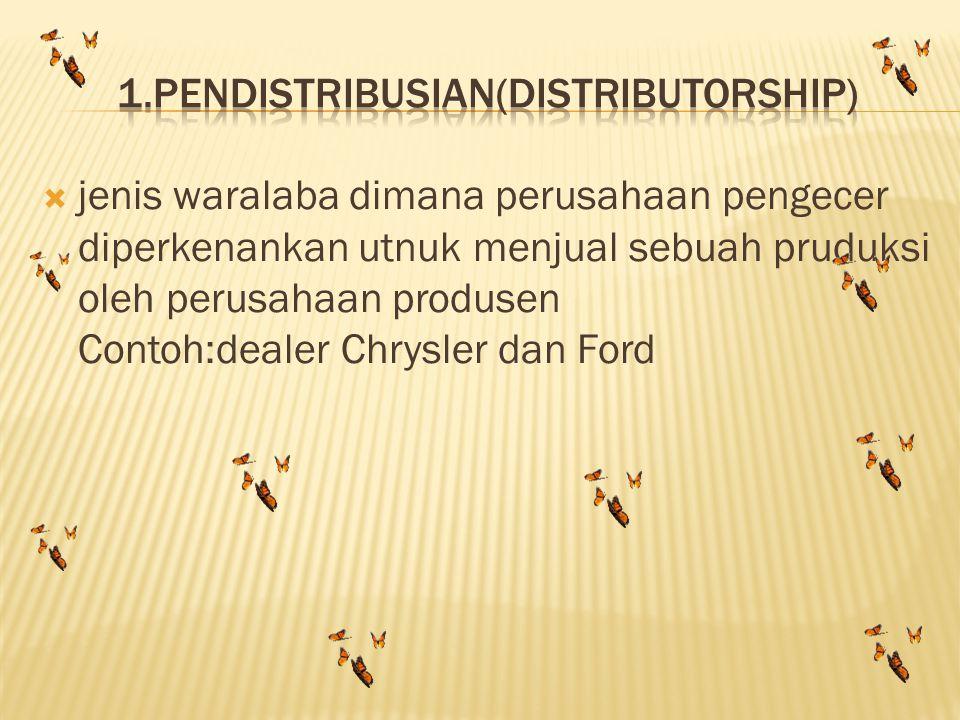 1.pendistribusian(distributorship)
