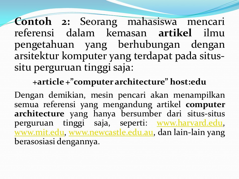 +article + computer architecture host:edu