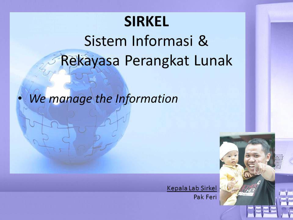 SIRKEL Sistem Informasi & Rekayasa Perangkat Lunak