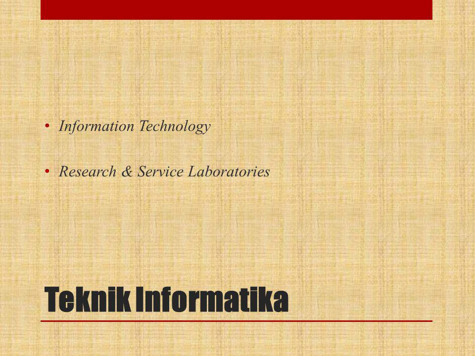 Teknik Informatika Information Technology
