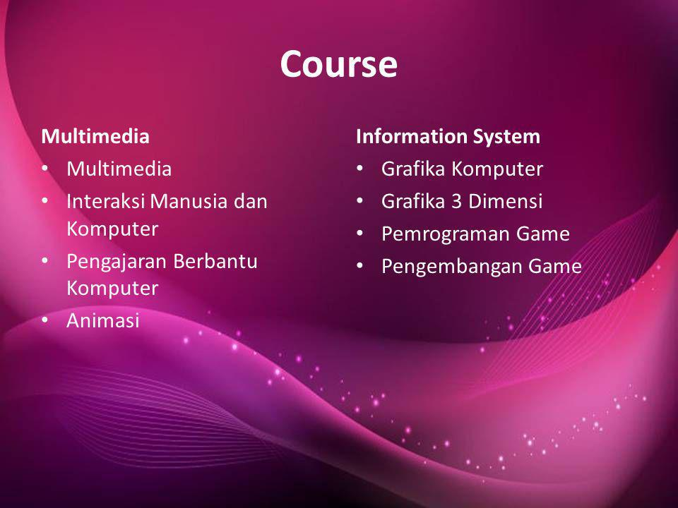Course Multimedia Information System Grafika Komputer