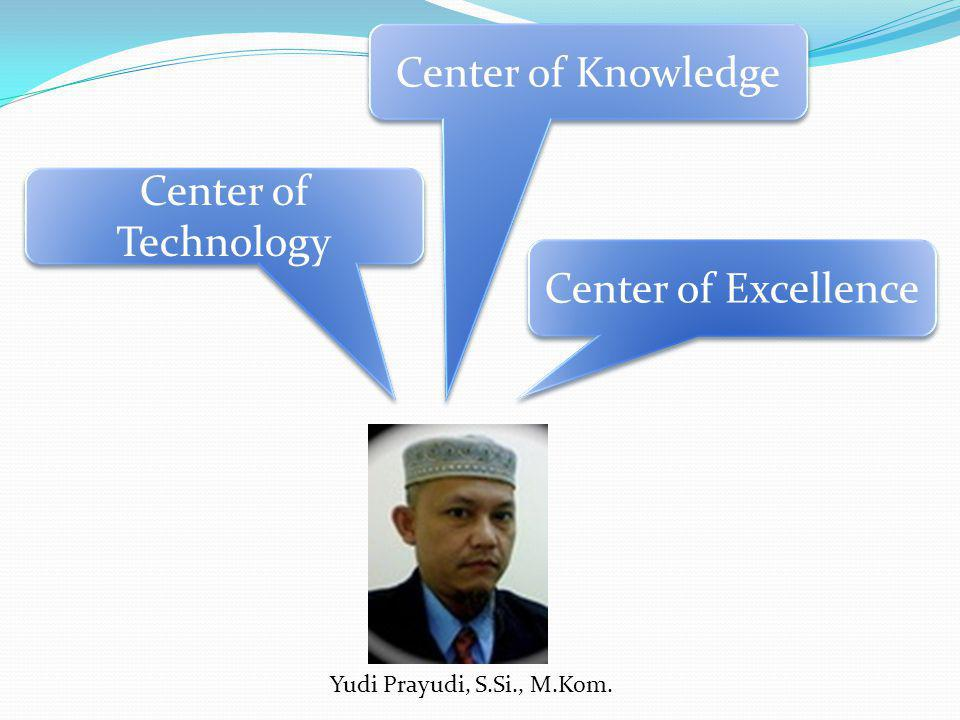 Center of Knowledge Center of Technology Center of Excellence