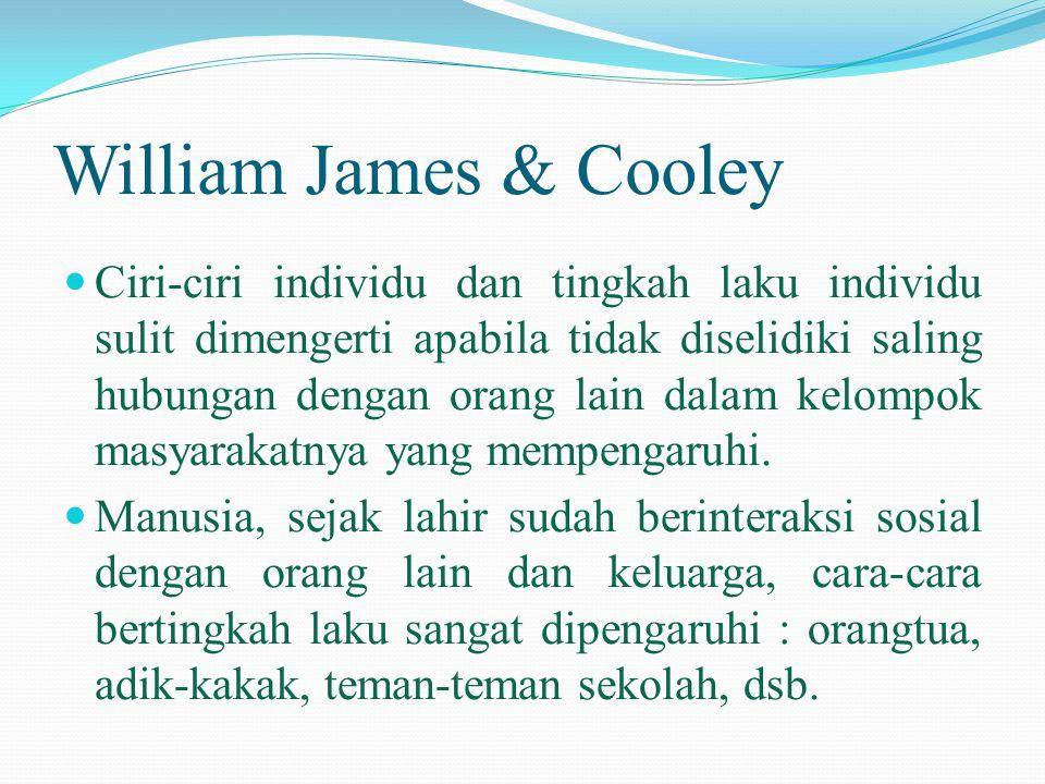 William James & Cooley