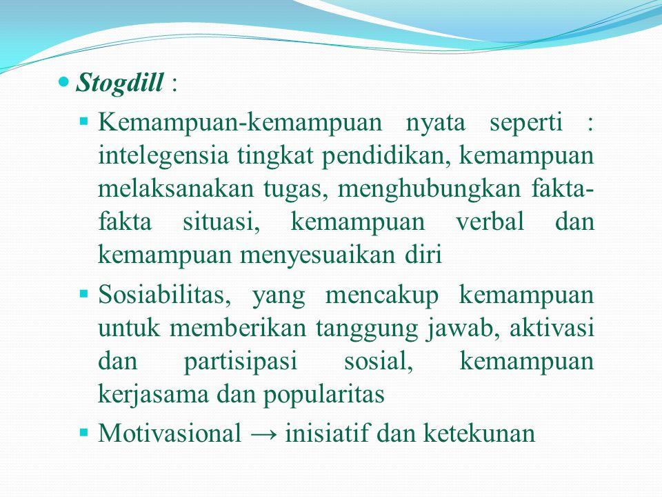 Stogdill :