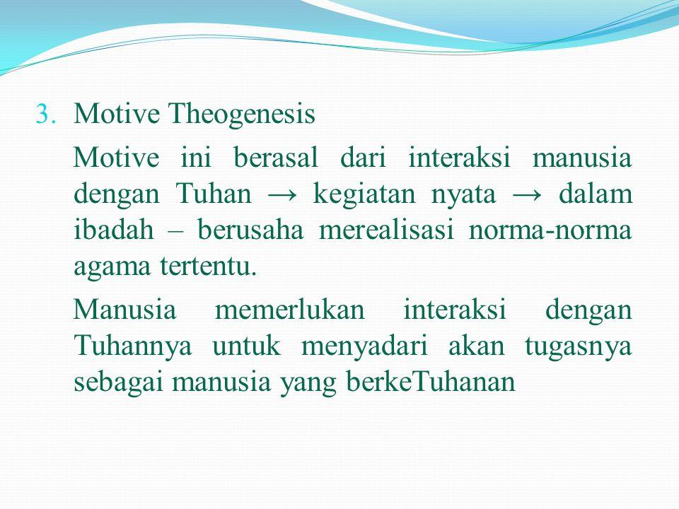 Motive Theogenesis