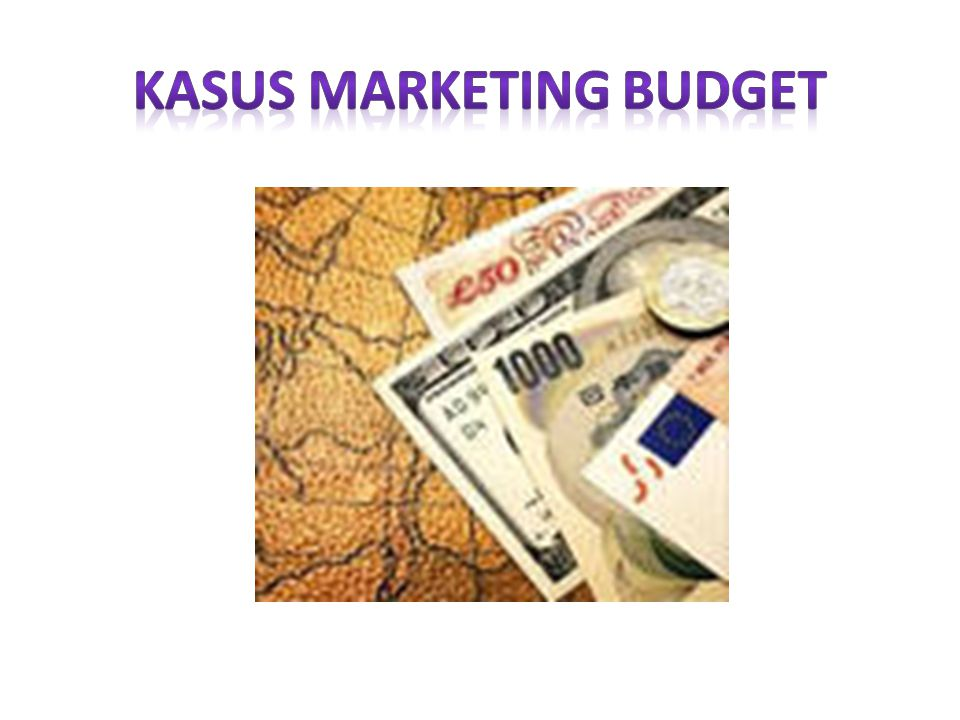 KASUS MARKETING BUDGET