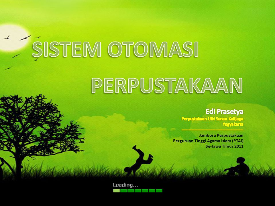 SISTEM OTOMASI PERPUSTAKAAN Edi Prasetya