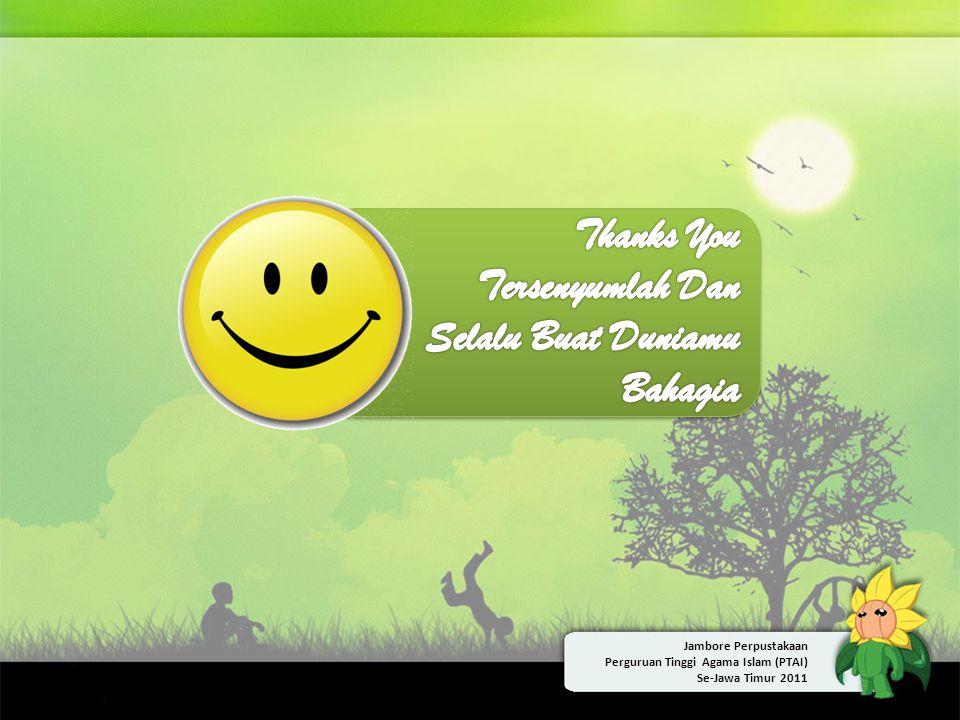 Thanks You Tersenyumlah Dan Selalu Buat Duniamu Bahagia
